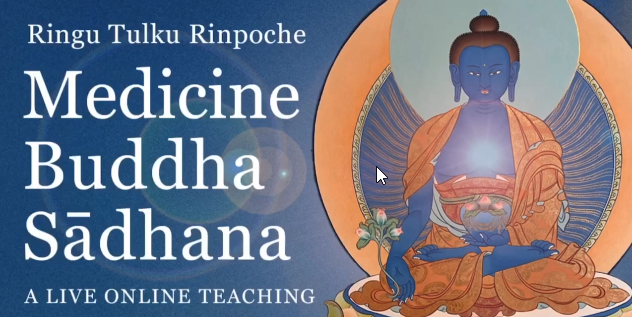 Medicine Buddha Sādhana LIVE Teaching The Ringu Tulku Archive Mozilla Fire 2020 05 09 09 46 31